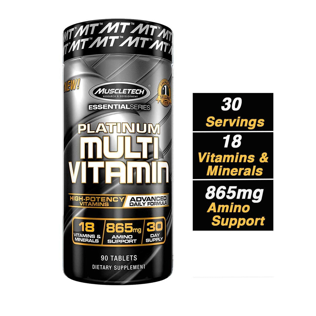 MuscleTech Advanced Daily Multivitamin for Men & Women