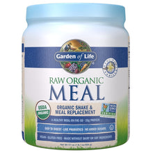 Load image into Gallery viewer, Garden of Life Meal Replacement Vanilla Powder, 14 Servings, Organic Raw Plant Based Protein Powder, Vegan, Gluten-Free