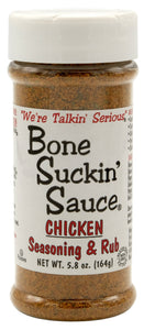 Bone Suckin' Sauce Chicken, Seasoning & Rub Spice, 5.8oz (Pack of 2, Total of 11.6oz)