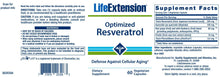 Load image into Gallery viewer, Life Extension Optimized Resveratrol