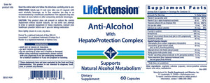 Life Extension Anti-Alcohol
