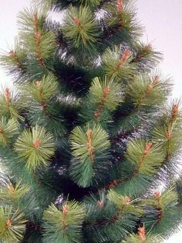 1.9m Artificial Pine Christmas Tree Split Ends