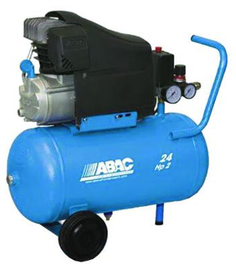 1129100202 ABAC Pole Position Compressor L20 - Lubricated - Single Phase Portable Piston