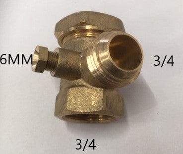 2002205 CLARKE NON RETURN VALVE 3/4 X 3/4 X 6MM