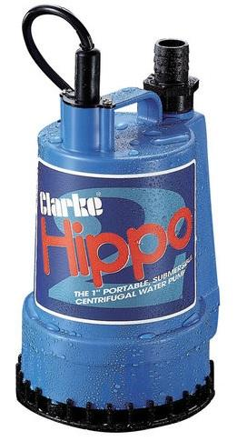 "7230023 Clarke 1"" 110v Submersible Water Pump - Hippo 2"