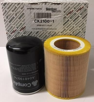 CK2100-1 SERVICE KIT L15-L22 (MINOR) Compair