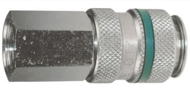 CP17-12 PARKAIR SERIES 17 COUPLING FEMALE THREAD BSP 1/4, 3/8, 1/2 INCH