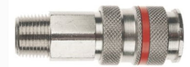 CP19-11 PARKAIR SERIES 19 COUPLING MALE BSP 1/4, 3/8, 1/2 INCH