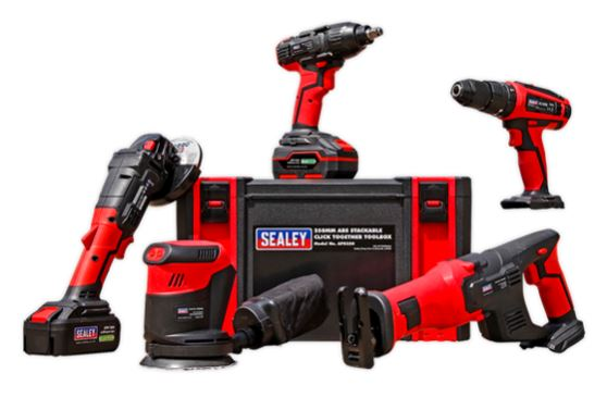 CP20VCOMBO2 CP20V Series 5 x 20V Cordless Tool Combo - 2 Batteries