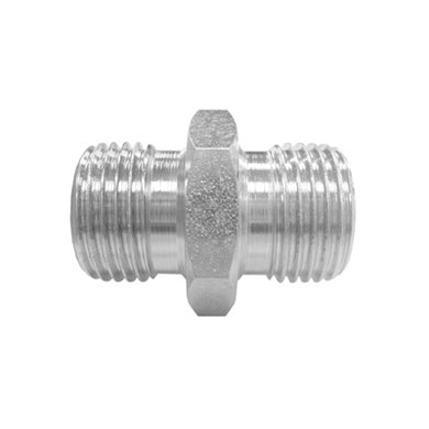 PKR-1BT STRAIGHT ADAPTOR - BSP MALE 60° CONE / BSPT MALE (CONE SEAT ADAPTOR)