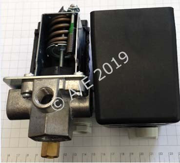 PS004-2-4 (2-4AMP OVERLOAD) CONDOR MDR3 Pressure Switch with Overload