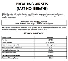 Load image into Gallery viewer, Z29100BREATHE METALWORK BREATHING AIR FILTER SET (BREATHE)