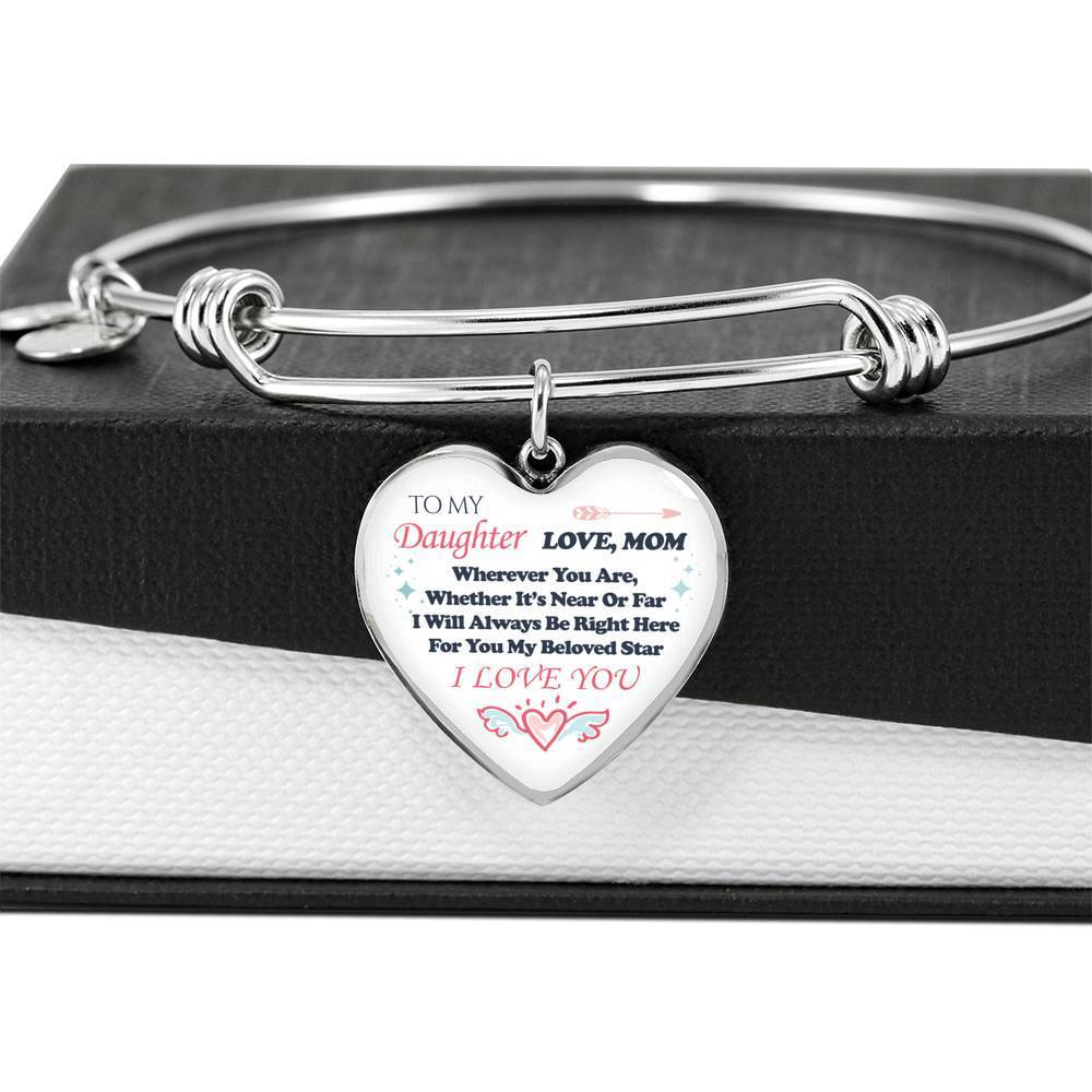ShineOn Fulfillment Jewelry Always Be Right Here Bangle