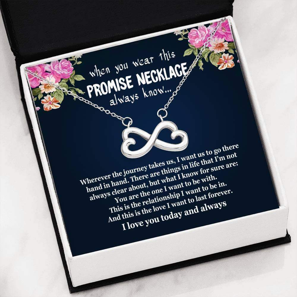 ShineOn Fulfillment Jewelry Always Love You Infinity Necklace