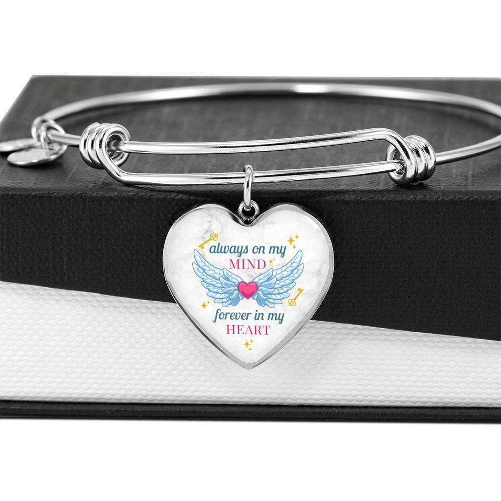 ShineOn Fulfillment Jewelry Always On My Mind Bangle