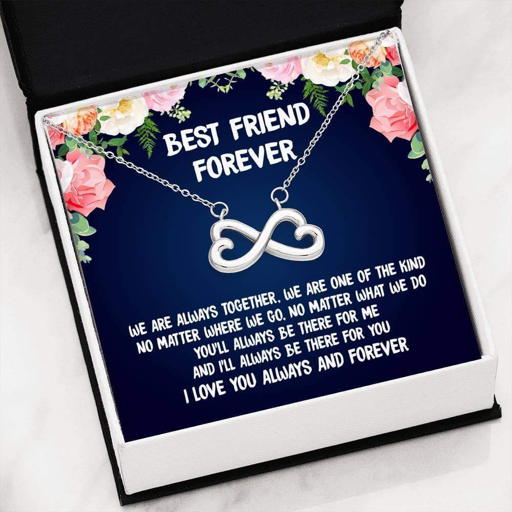 ShineOn Fulfillment Jewelry Always Together Infinity Necklace