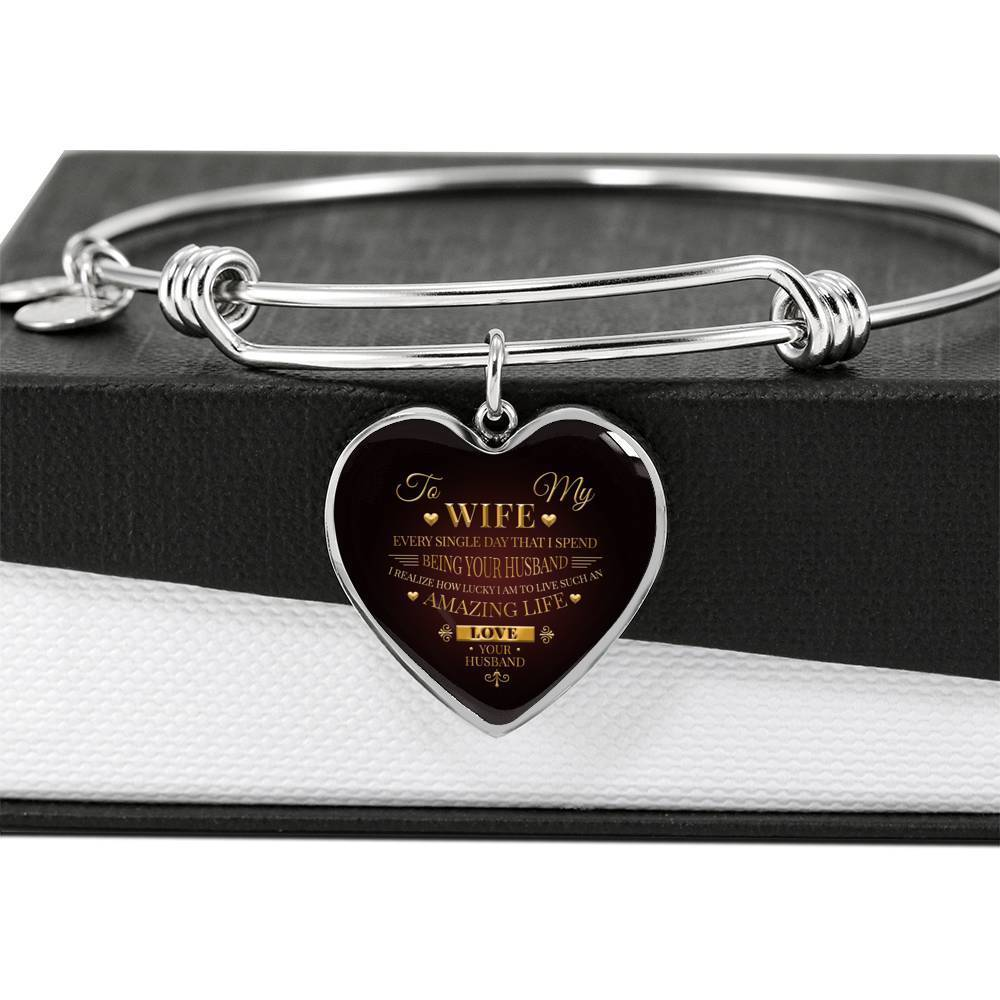 ShineOn Fulfillment Jewelry An Amazing Life Bangle