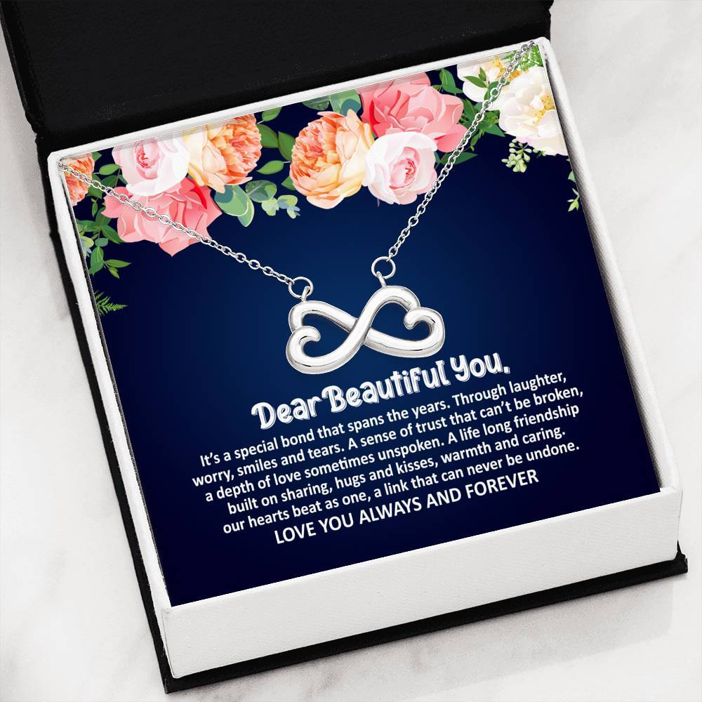 ShineOn Fulfillment Jewelry Beautiful Special Bond Infinity Necklace