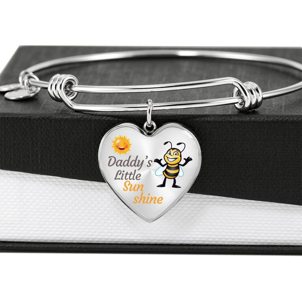 ShineOn Fulfillment Jewelry Daddy Little Sunshine Bangle
