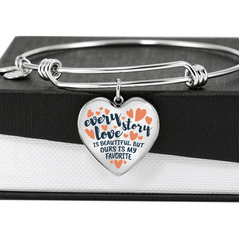 ShineOn Fulfillment Jewelry Every Love Story Bangle
