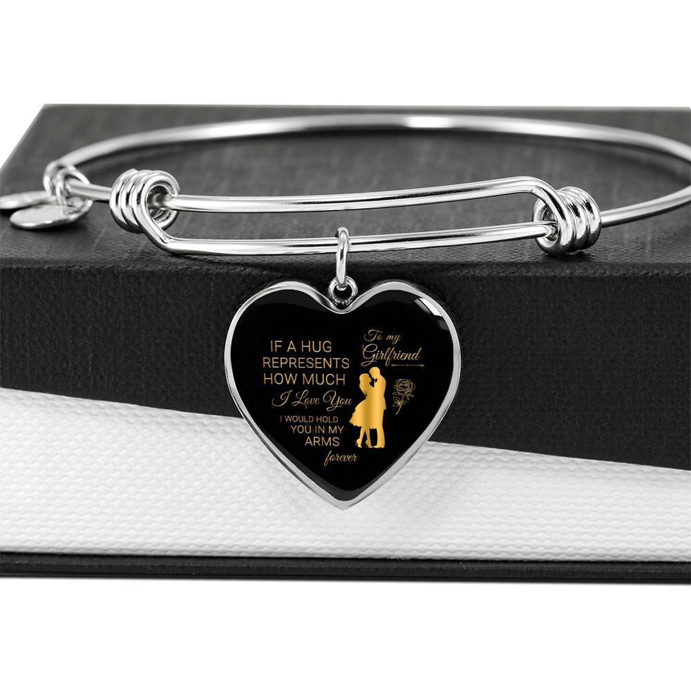 ShineOn Fulfillment Jewelry Hug You Forever Bangle
