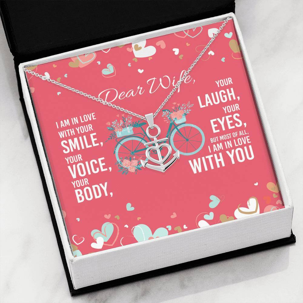 ShineOn Fulfillment Jewelry In Love With Your Smile Anchor Necklace