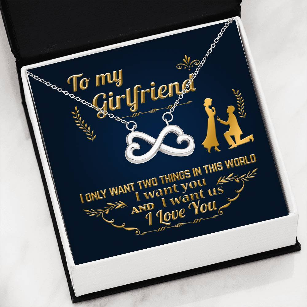 ShineOn Fulfillment Jewelry In This World Infinity Necklace
