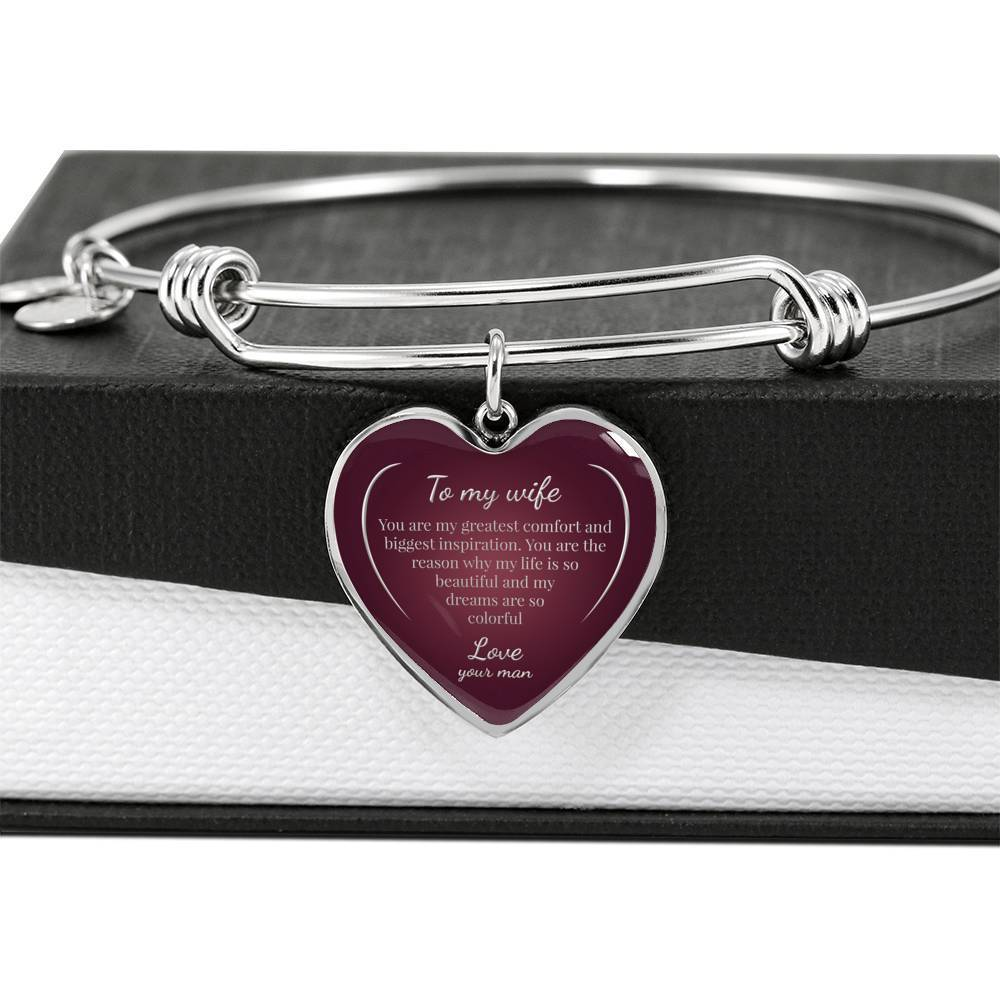 ShineOn Fulfillment Jewelry Life is Beautiful Bangle