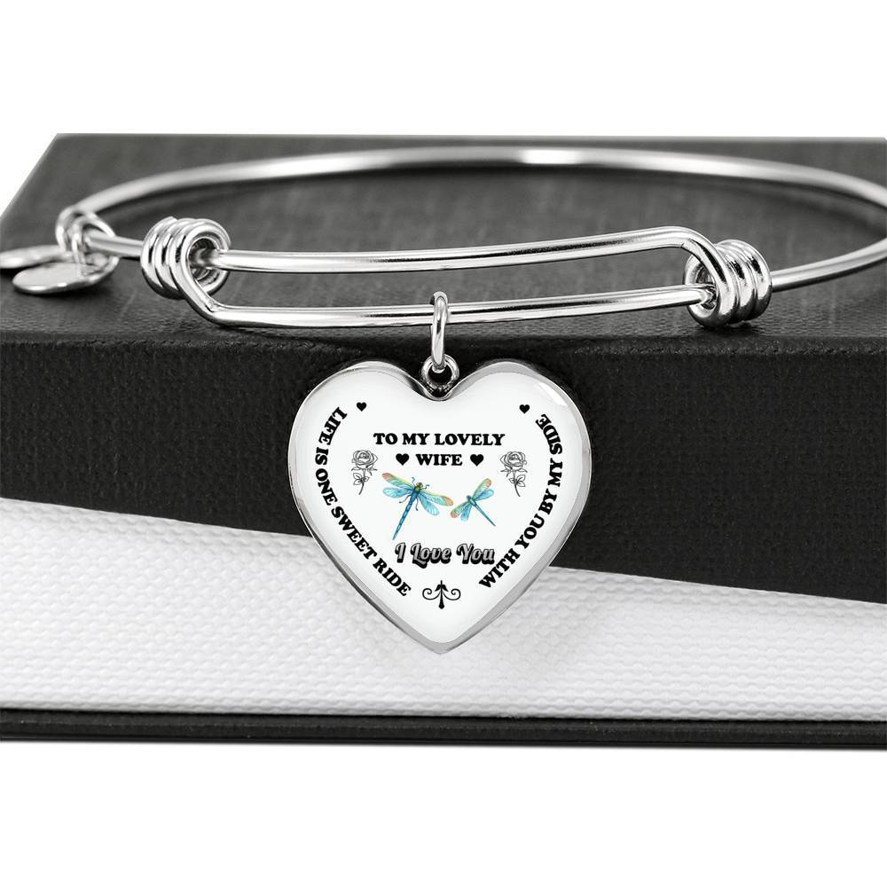 ShineOn Fulfillment Jewelry Life Is One Sweet Ride Bangle