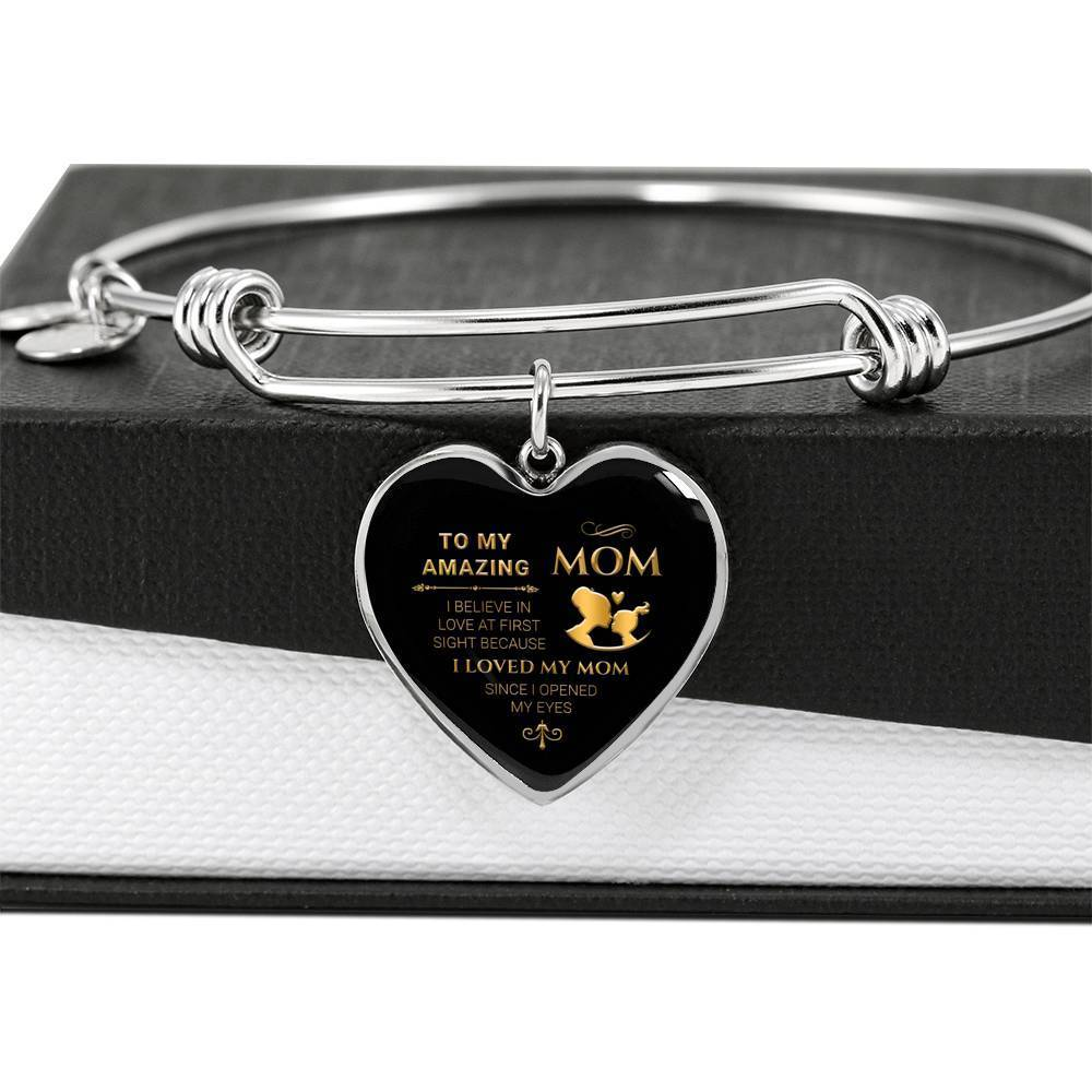 ShineOn Fulfillment Jewelry Love At First Sight Bangle