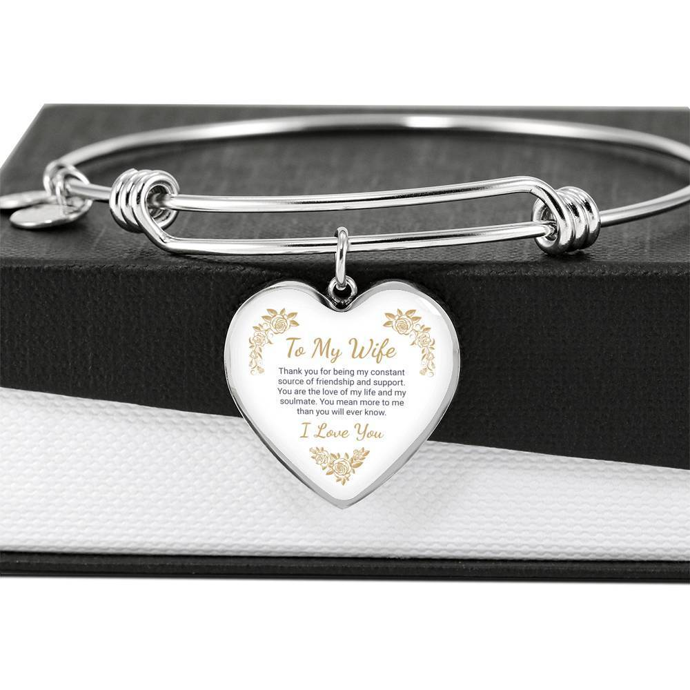 ShineOn Fulfillment Jewelry Love Of My Life Bangle