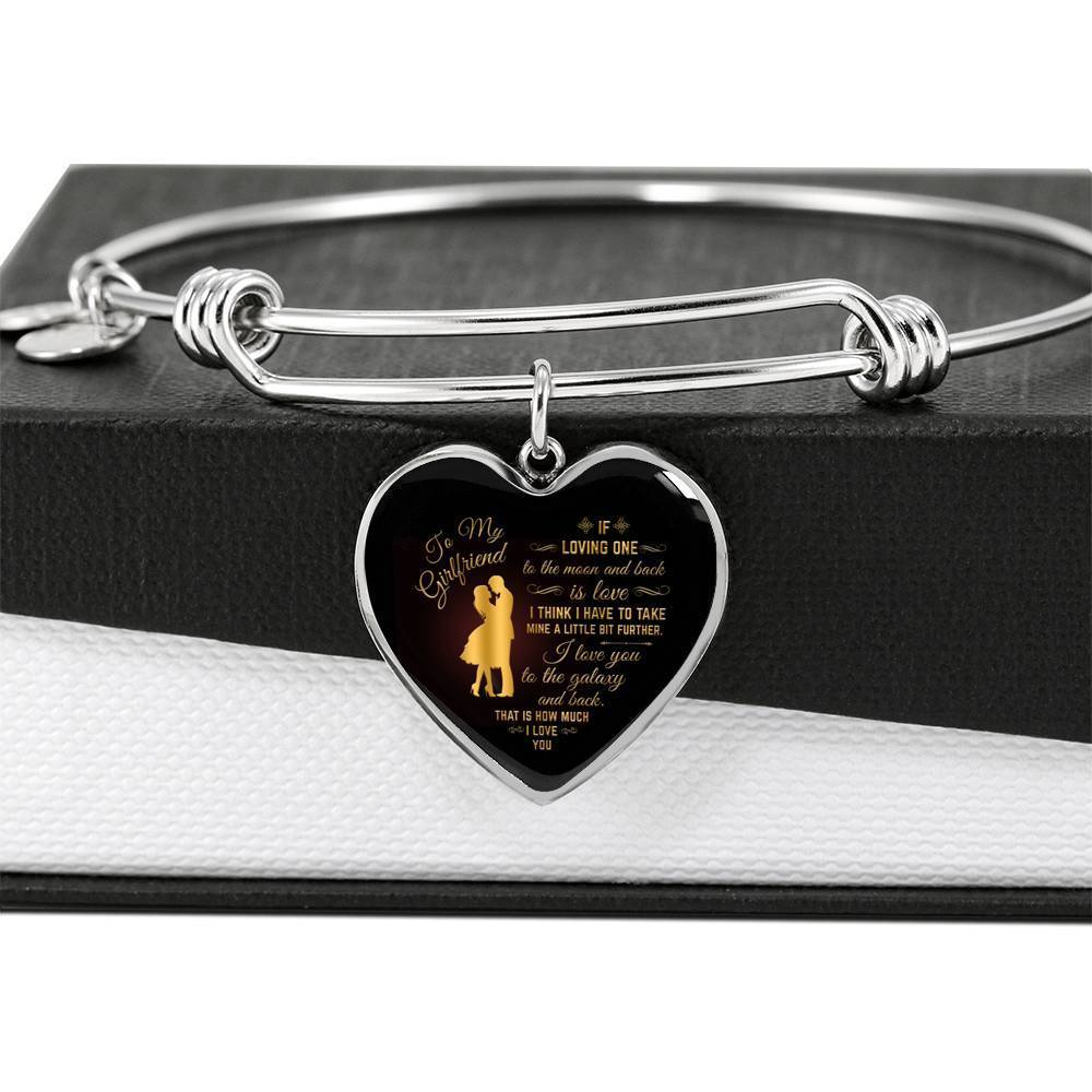 ShineOn Fulfillment Jewelry Love to the Galaxy Bangle