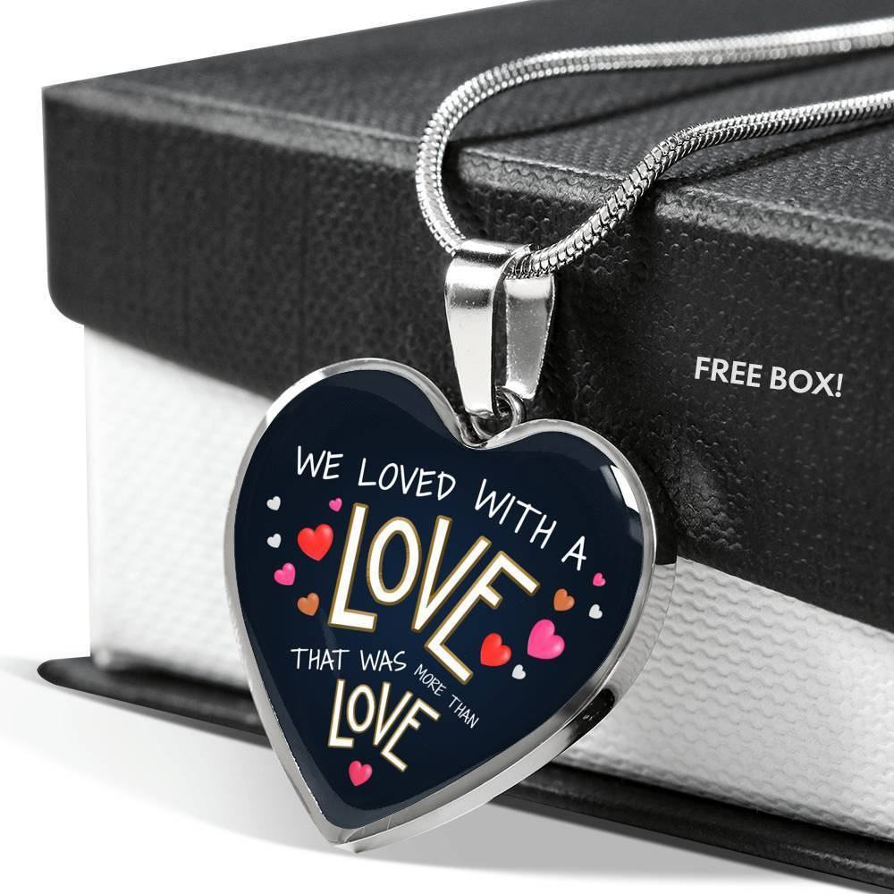 ShineOn Fulfillment Jewelry More Than Love Necklace