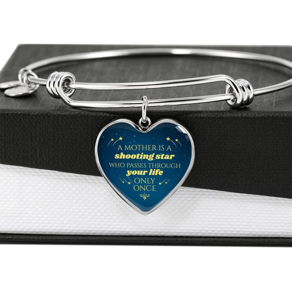 ShineOn Fulfillment Jewelry Mothers Are Like Shooting Stars Bangle