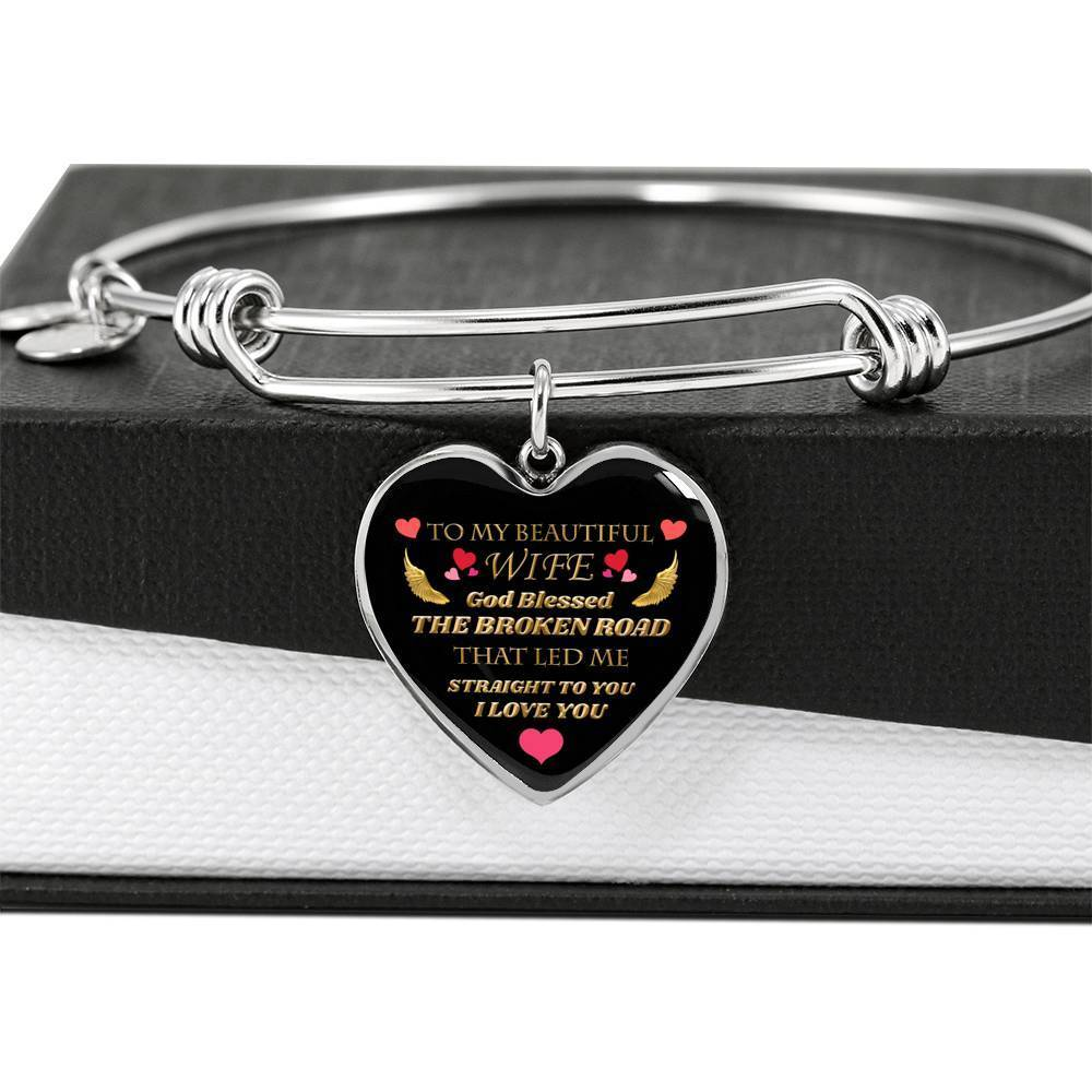 ShineOn Fulfillment Jewelry My Beautiful Wife Bangle