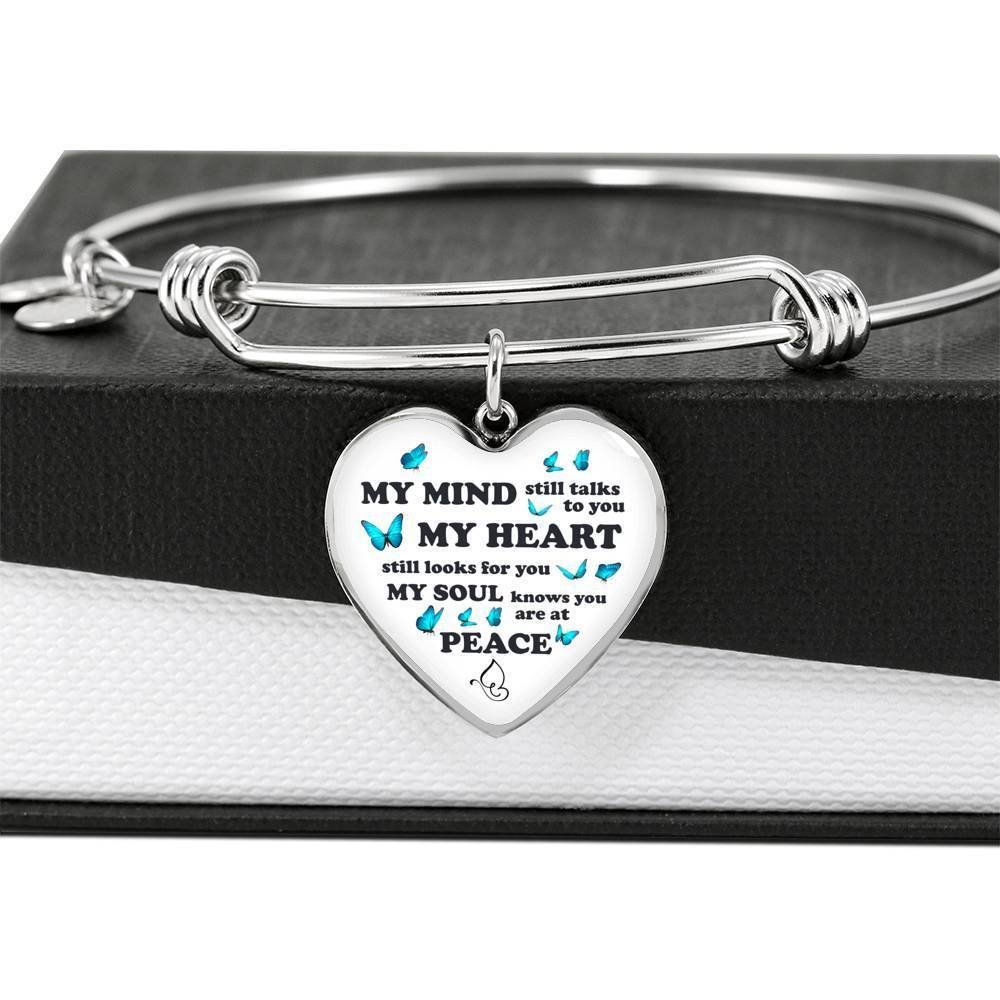 ShineOn Fulfillment Jewelry My Heart Still Looks For You Bangle