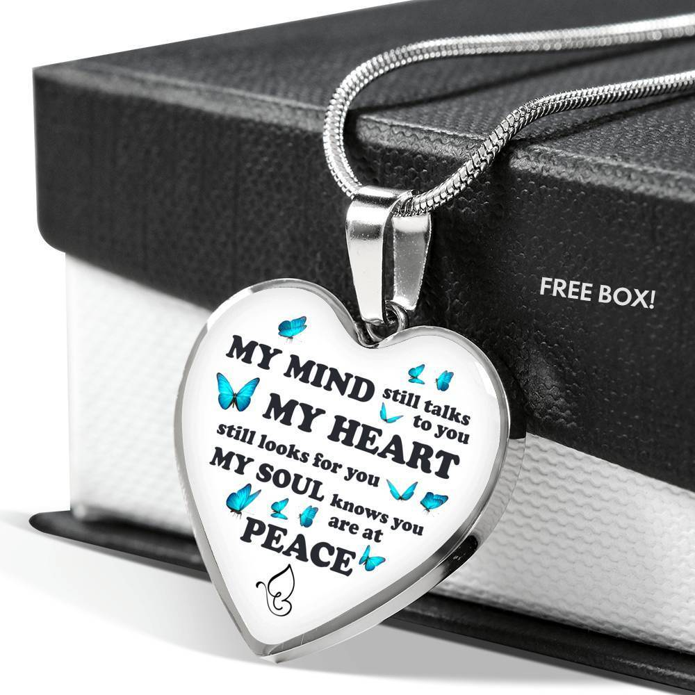 ShineOn Fulfillment Jewelry My Heart Still Looks For You Necklace
