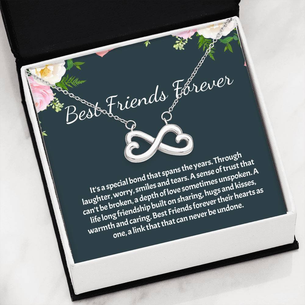ShineOn Fulfillment Jewelry Smiles And Tears Infinity Necklace