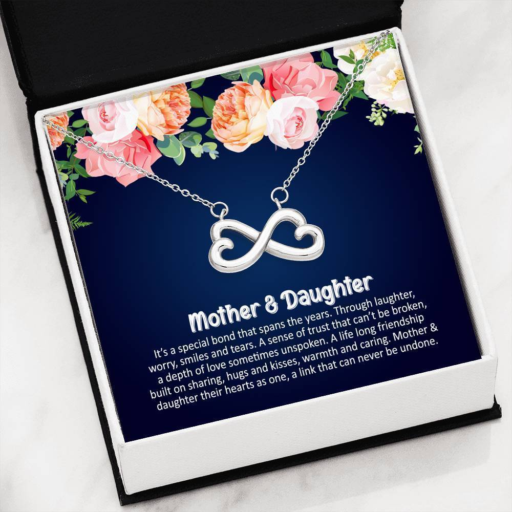 ShineOn Fulfillment Jewelry Special bond Infinity Necklace