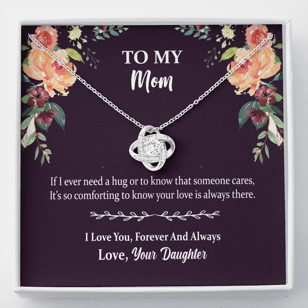 ShineOn Fulfillment Jewelry Standard Box A Mother Like No Other Love Knot Necklace