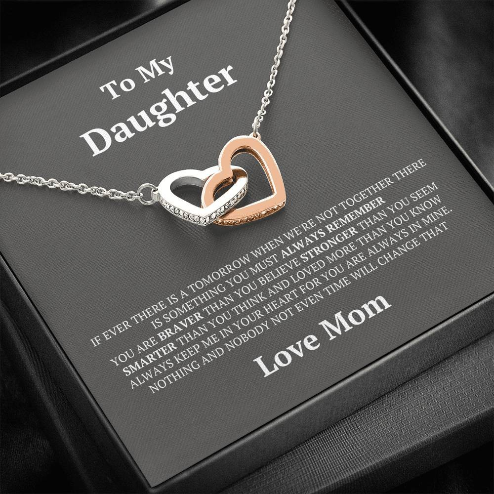 ShineOn Fulfillment Jewelry Standard Box In Your Heart Interlocking Necklace