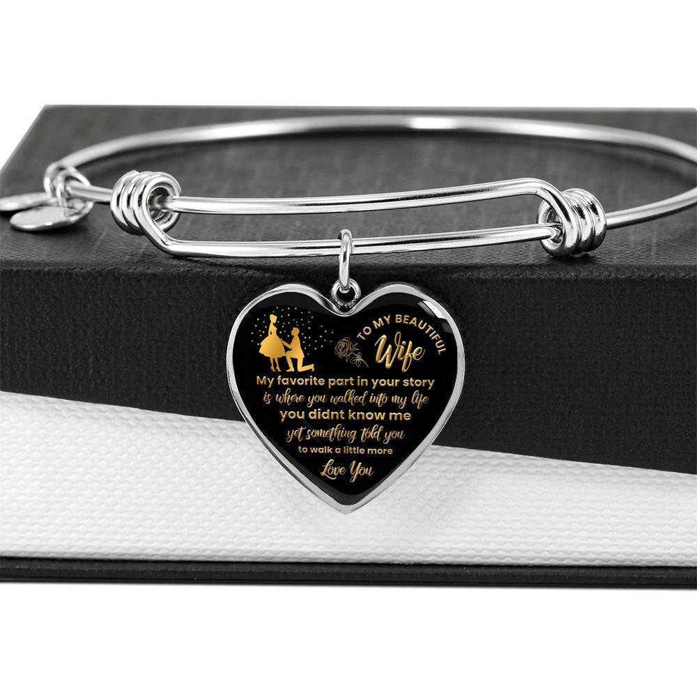 ShineOn Fulfillment Jewelry Walk Into My Life Bangle