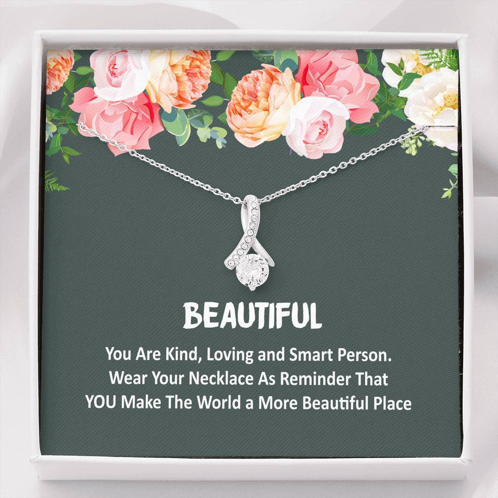 ShineOn Fulfillment Jewelry You're Beautiful Alluring Necklace