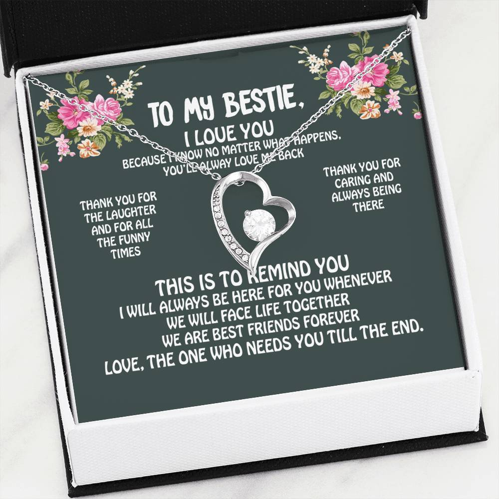 ShineOn Fulfillment Jewelry You're My Bestie Forever Necklace