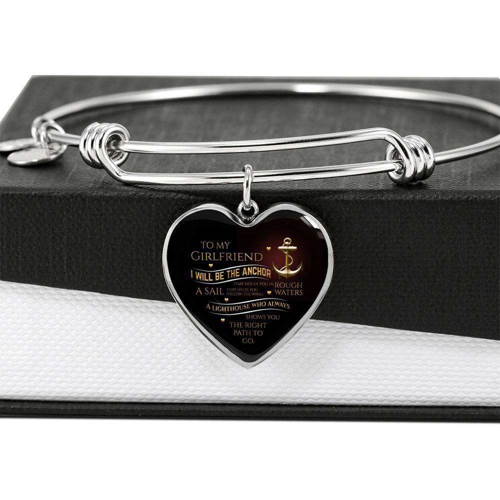 ShineOn Fulfillment Jewelry Your Anchor Bangle