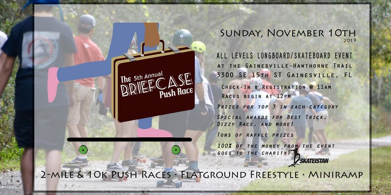 The 5th Annual Briefcase Push Race