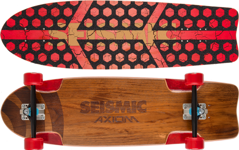 Seismic Axiom 32″ x 9.375″ Longboard