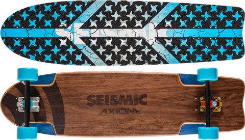 Seismic Axiom 36.25″ x 9.75″ Longboard