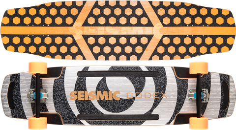Seismic Codex 37.5″ x 9.625″ Longboard