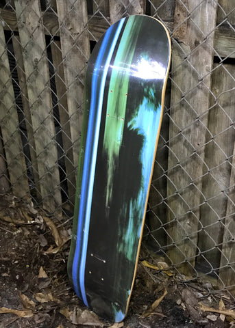 Skateboard with Photograph Graphic 4